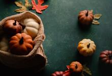 Rustic Fall Season Decoration ...