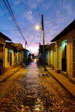 Trinidad Streets At Night