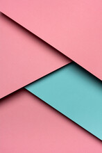 Pink And Emerald Paper Materia...