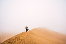 Lonely Man In The Desert