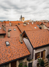 French Alpine Rooftops