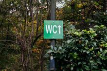 WC Public Toilet Sign