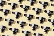 Mosaic Of Some Super 8 Camera