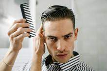 Stylish Man Stylish Hair With ...