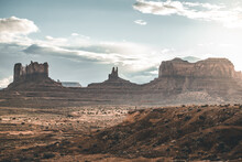 Boy In Monument Valley