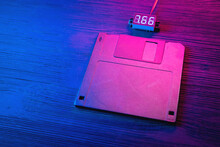 A Floppy Disk Diskette In The ...