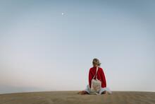 Little Girl In The Desert