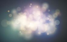 Bright Bokeh Effect. Festive M...