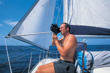 A Sailor Is Using A Sextant To Determine His Location