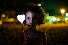 Kid With Lighted Heart
