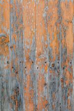 Texture Of Rusty Wood Door
