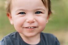 Closeup Of Adorable Little Gir...