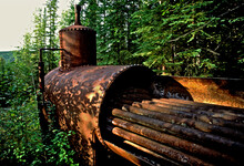 Old Rusted Pipes And Boiler Fr...