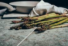 Raw Organic Asparagus Spears, ...