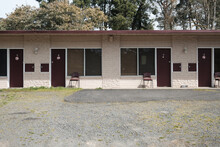 Low Cost Motel In Country Town