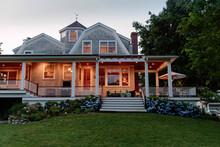 Craftsman Home Exterior At Dus...
