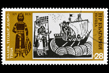 The Postage Stamp Printed In B...