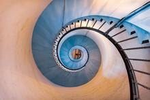 Spiraltreppe Eines Leuchtturms...