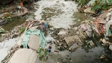Water Pollution - Rubbish Garbage With Water - 5