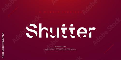 Sport modern urban alphabet fonts. Typography, abstract technology, fashion, digital, future creative logo font. vector illustration