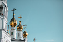 Golden Dome Of The Russian Ort...