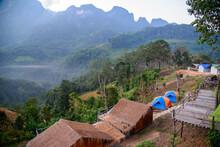 Doi Luang Chiang Dao View - Doi Luang Chiang Dao Homestay Location  Chiang Dao District, Chiang Mai Province