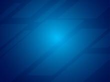 Blue Abstract Tech Geometric Modern Background. Modern Shape Concept, Modern Background Template