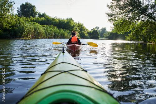 Obrazy Sporty Wodne   close-up-shot-of-nose-of-kayak