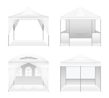 Realistic Outdoor Folding Tent...