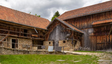 Historic Farmhouse Scenery