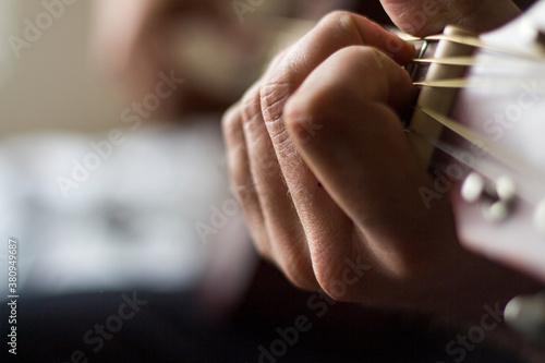 playing guitar Wallpaper Mural
