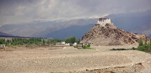 Monasteries And Stupas In Leh,...