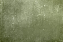 Green Distressed Wall Background