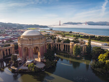 Palace Of Fine Arts From The Sky