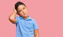 Little Boy Hispanic Kid Wearin...