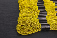 Skeins Of Golden Embroidery Th...