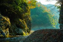 保津峡の風景