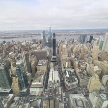 Vista Su New York Dall' Empire State Building