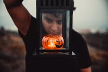 Halloween Retrato