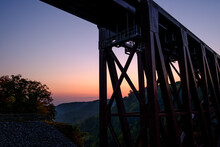 Railroad Trestle At The Letchw...