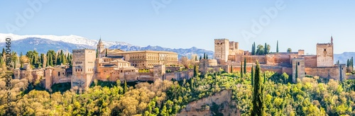 Fotografía Panorama Alhambra in Granada Andalusien Spanien