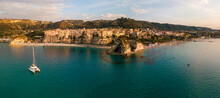 Aerial View Of The Calabrian C...