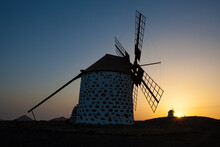 Old Flour Mill With A Very Col...