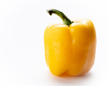 Gold Colored Bell Pepper With ...