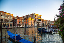 Grand Canal With Gondolas In T...