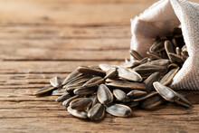 Heap Of Dried Sunflower Seeds ...
