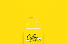 Paper Shopping Bag With Text C...