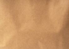 Brown Paper Bag Close Up. Text...