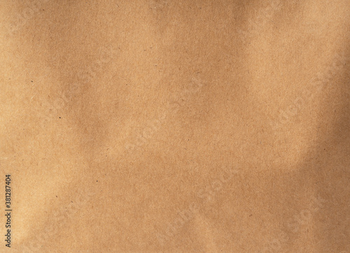 Tablou Canvas Brown paper bag close up