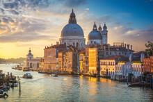 Venice Grand Canal, Santa Mari...